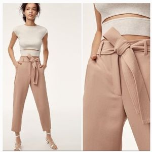 Aritzia Wilfred Jallade Pant in Roebuck